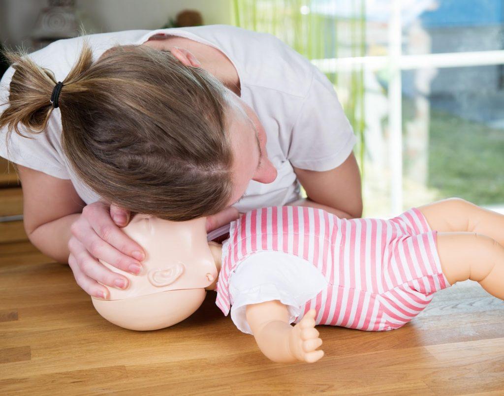 ressuscitação cardiopulmonar pediátrica